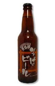 ざる印そばビール