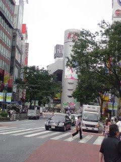 朝から渋谷