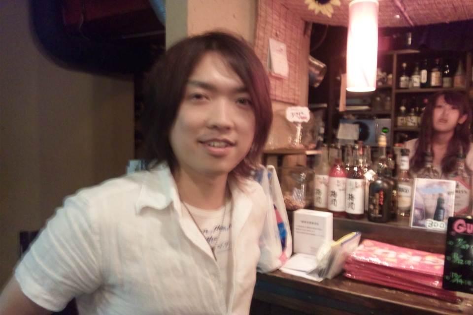 ソロライブ終了後の塚田哲夫さん