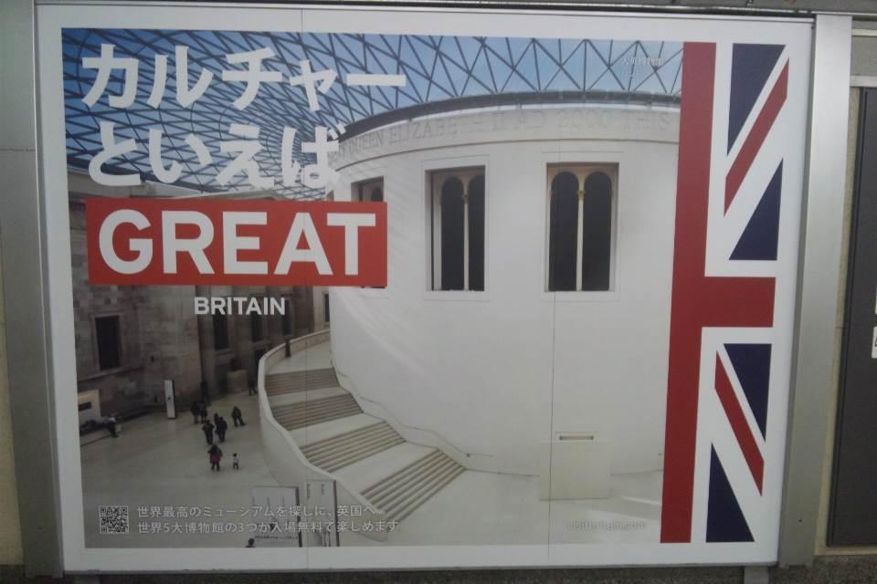 現地逃避と大英博物館
