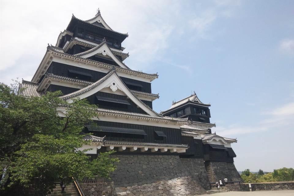 小学校の修学旅行以来の熊本城