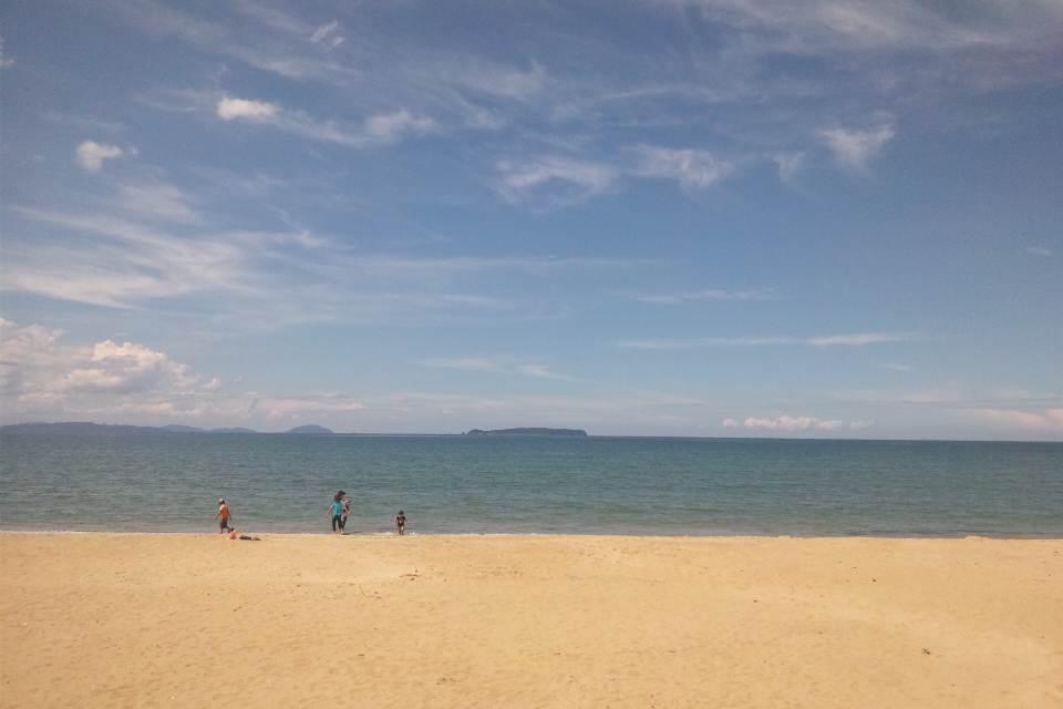 海辺の休暇