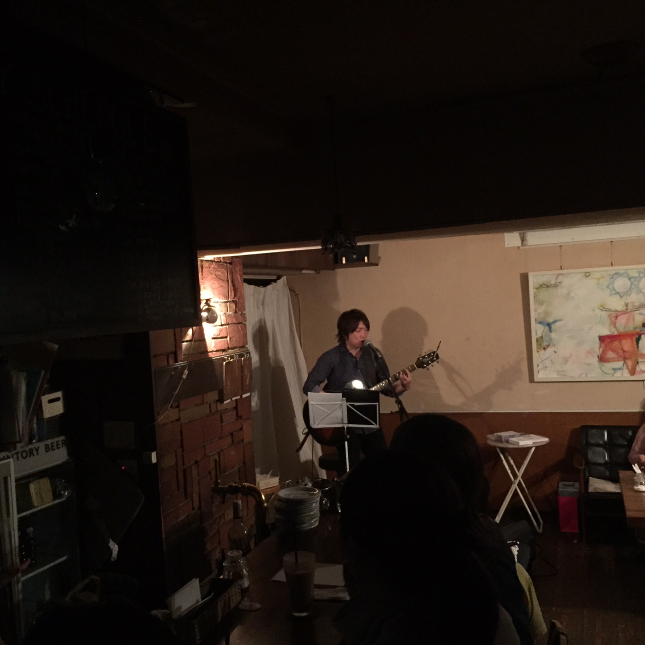 塚田哲夫ワンマンライブ in navi cafe